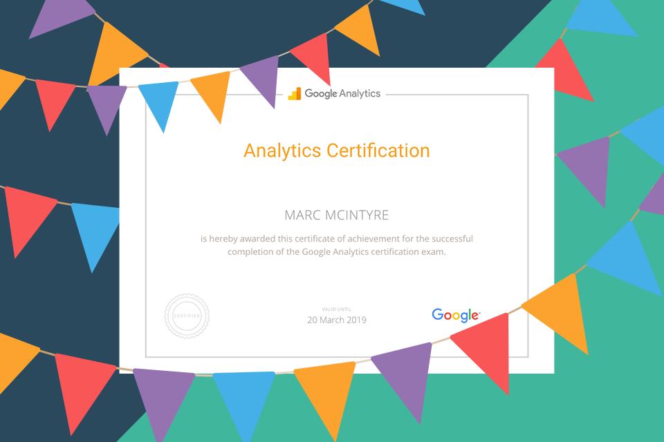 Google Analyitcs Iq Icd Creative Marketing Blog