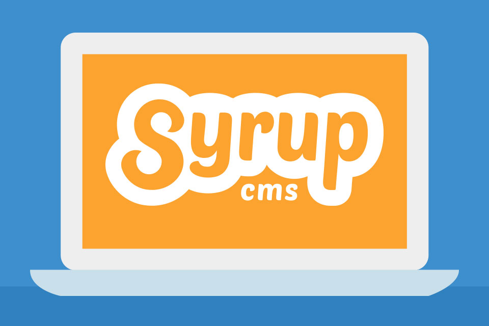 Syrup CMS