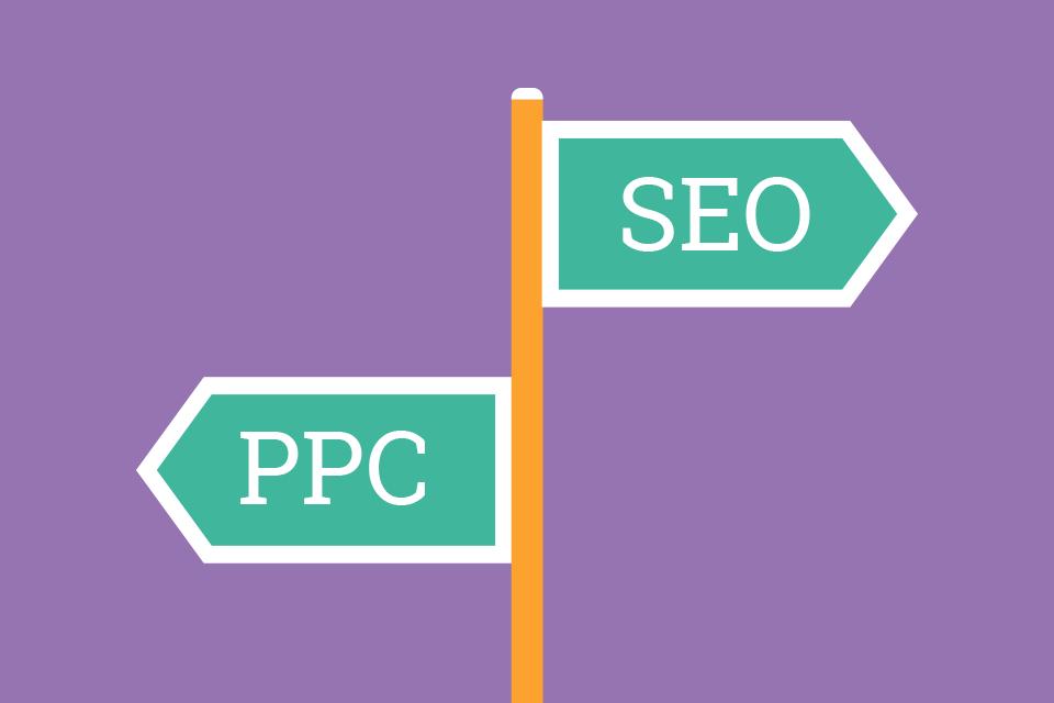 SEO vs PPC   Marketing Agency Blog   iCandy Design, Hampshire